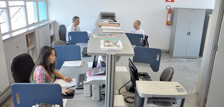 Área de trabalho da Associação